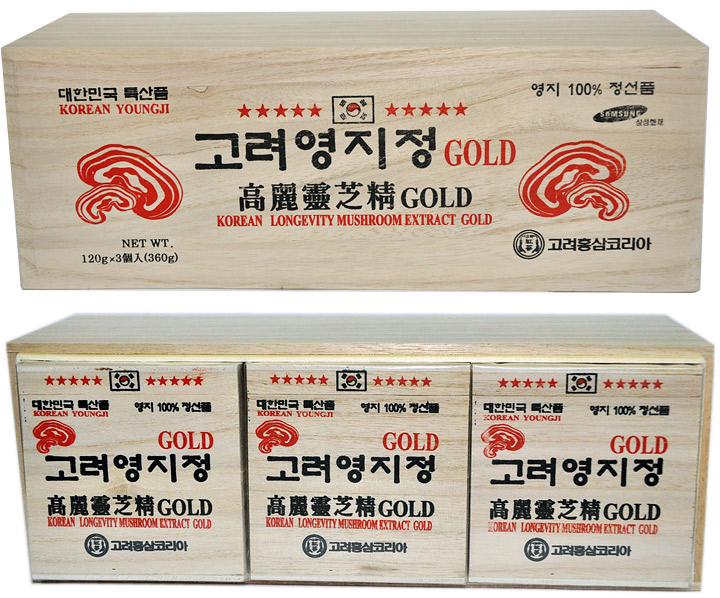 Cao Linh Chi Hàn Quốc hộp gỗ trắng