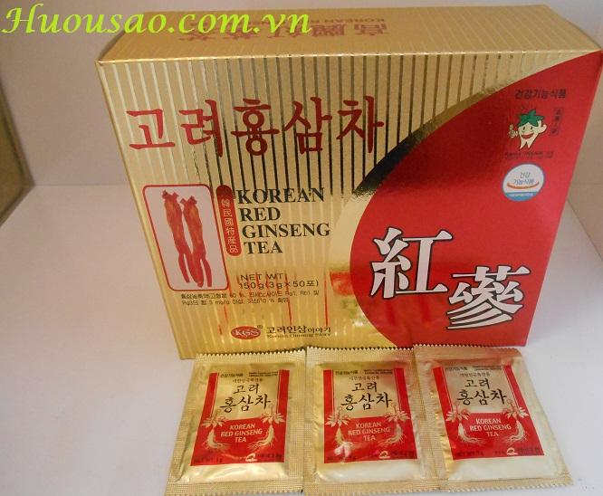 Trà Hồng Sâm Hàn Quốc KGS 3g x 50 gói